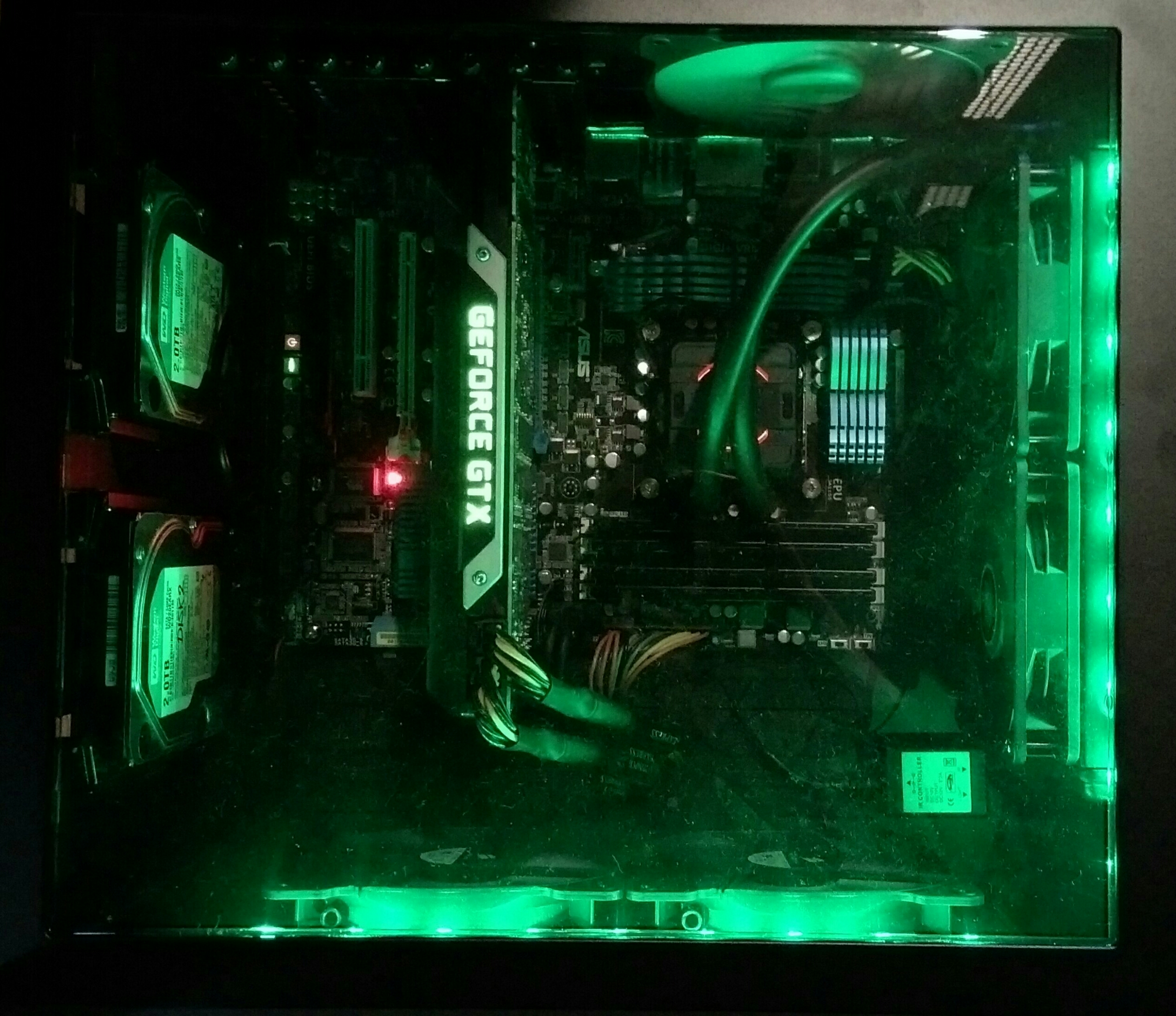 Corsair Air 540 mod - The Hulk - 02