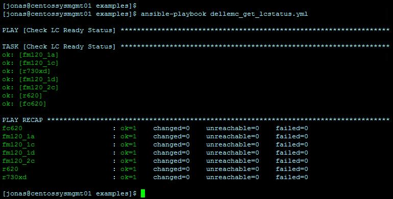New iDRAC Ansible module: Version 1 1 released – jonamiki com