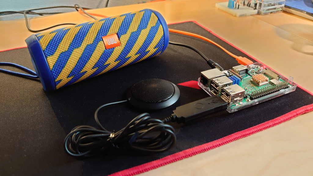 Sound on Raspberry Pi: Separate speaker and microphone – jonamiki com